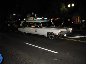 Vienna Virginia Halloween Parade Ghost Busters Doug Francis