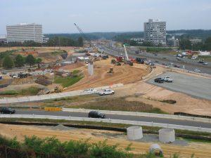Capital-Beltway-Road-Construction-Tysons-Corner-Virginia