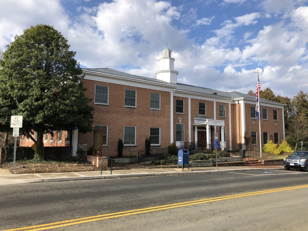 Real Estate Tax paid at Town Hall Vienna VA 127 Center Street