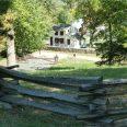 Civil War Home at Fredericksburg VA Battlefield NP