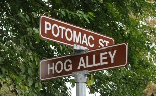 Potomac Street and Hog Alley Harpers Ferry West Virginia