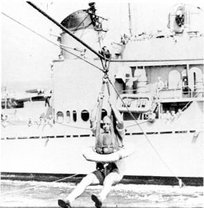 USS Compton DD-705 Doc Francis High Line