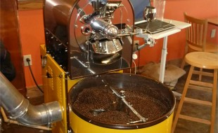 Coffee Roaster at Caffe Amouri Vienna VA