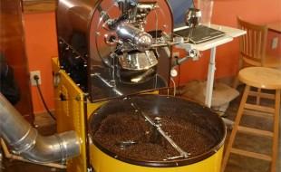 Coffee Roaster at Caffe Amouri Vienna VA