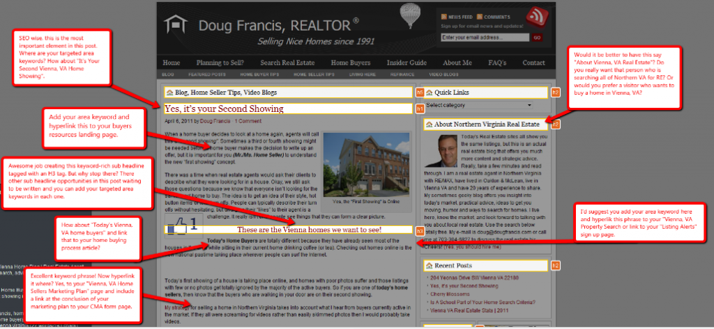 Another Vienna Va Real Estate Blogger