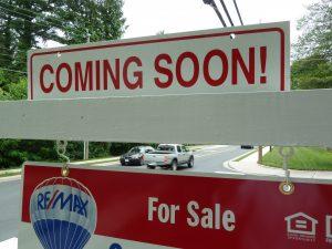 Real Estate Coming Soon signs Vienna VA