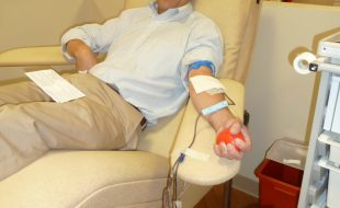 Doug Francis at Woodburn Center Inova Blood Donor Services Virginia