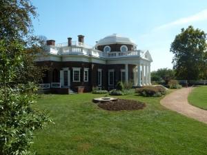 Monticello Thomas Jefferson Charlottesville Virginia