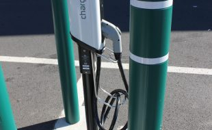 An Electric Vehicle Charging Station in Vienna, VA