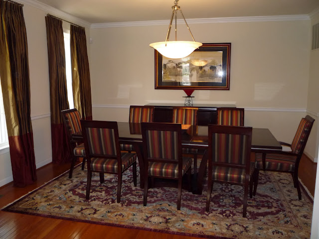 Oversize Formal Dining Room 8636 Dogwood Lane Fairfax VA 22030