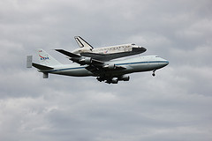 Shuttle Discovery at Dulles 18