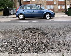 Pothole - Lansdowne Road