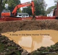 delay in new home construction