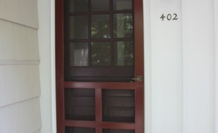 MacArthur Avenue Vienna Virginia Front Door