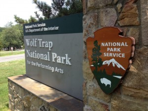 Wolftrap National Park for the Performing Arts in Vienna Virginia