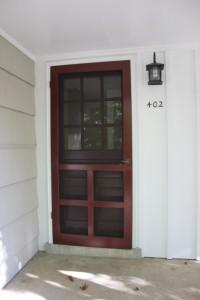 MacArthur Avenue Vienna Virginia Front Door childhood home
