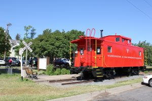 Caboose Vienna Virginia W&OD Bike Trail