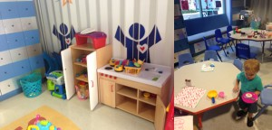 Child Life Playroom contains TONS of toys!