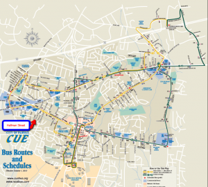 City of Fairfax CUE Bus Routes