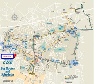 City of Fairfax CUE Bus Routes