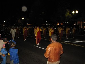 Washington Redskins Marching Band Vienna VA Halloween Parade Doug Francis