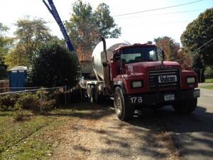 Vienna VA Cement Truck