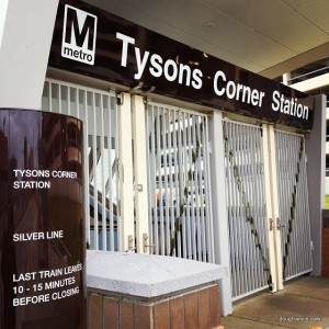 Tysons Corner Virginia Silver Line Metro Station