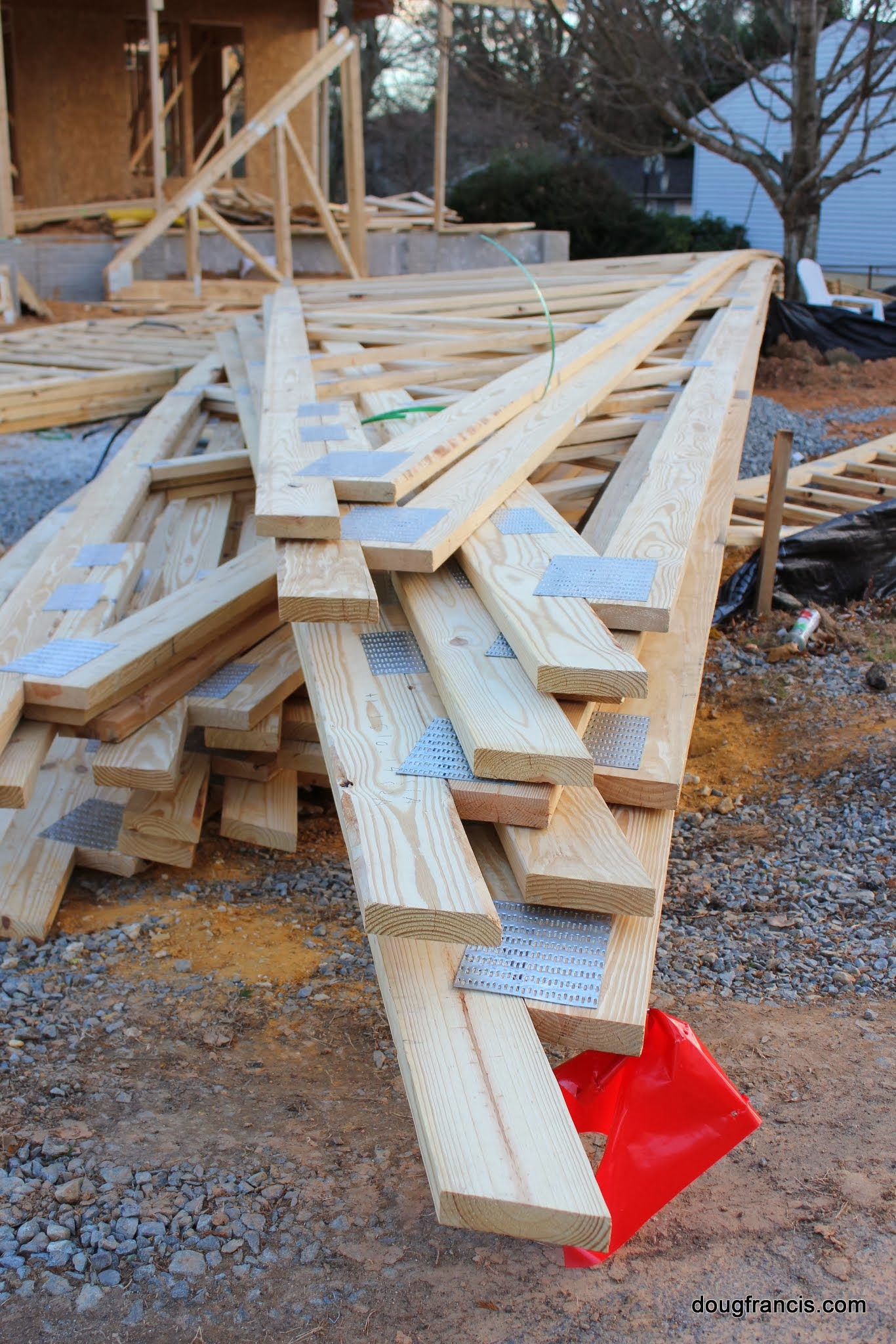 Install Roof Trusses Roof Truss Engineered