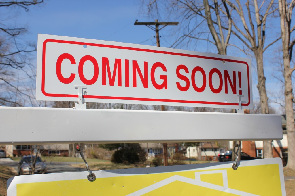 Vienna Coming Soon Sign Real Estate