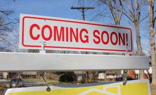 Coming Soon Sign Real Estate