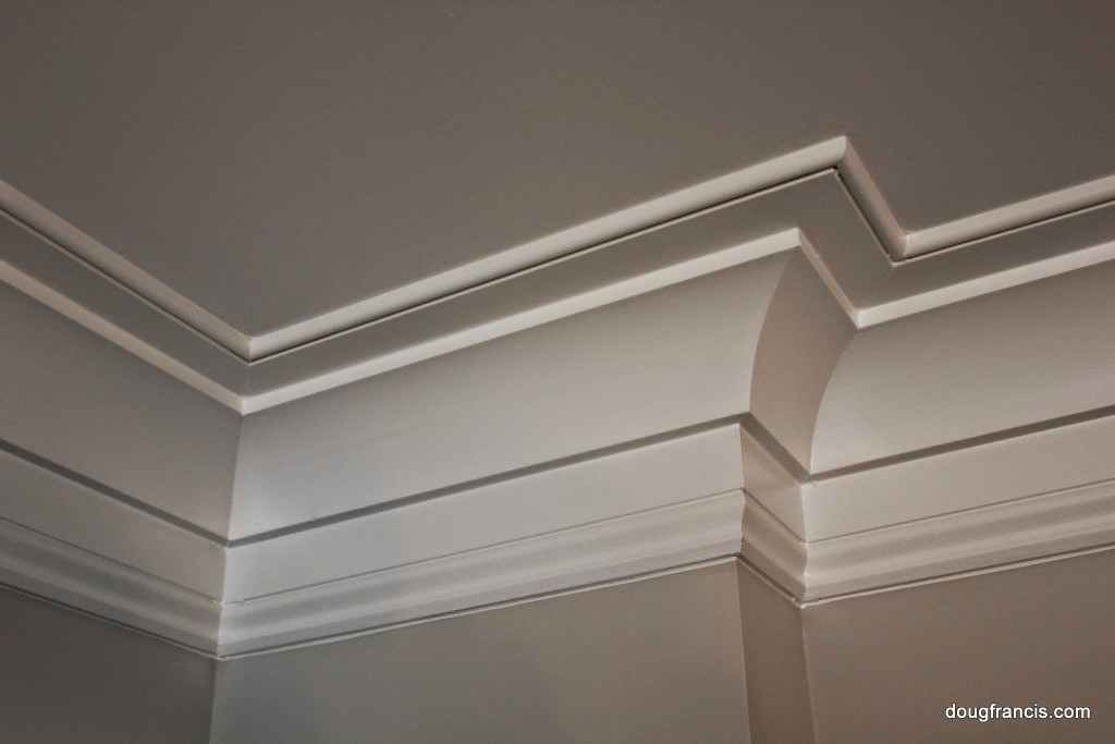 crown molding in Cherry Street Vienna