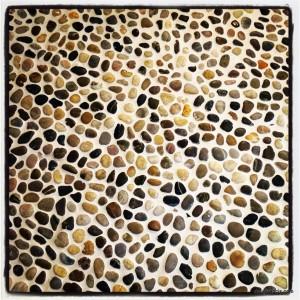 stone bathroom floor