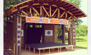 Stage at Vienna VA Town Green