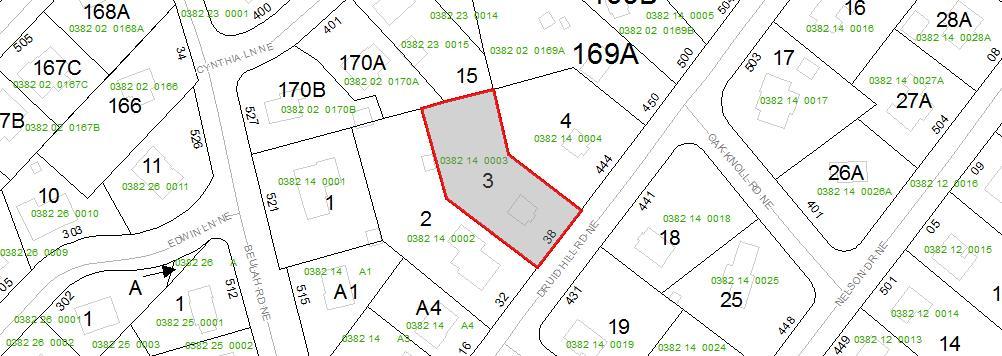 Tax Map 438 Druid Hill Rd Vienna VA