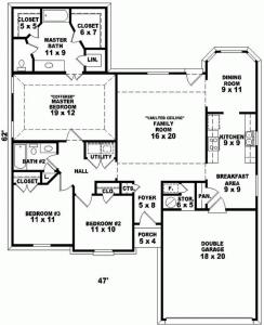 Standard floor plans