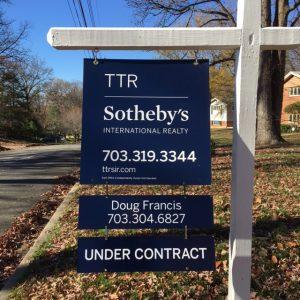 Doug Francis Real Estate Sign