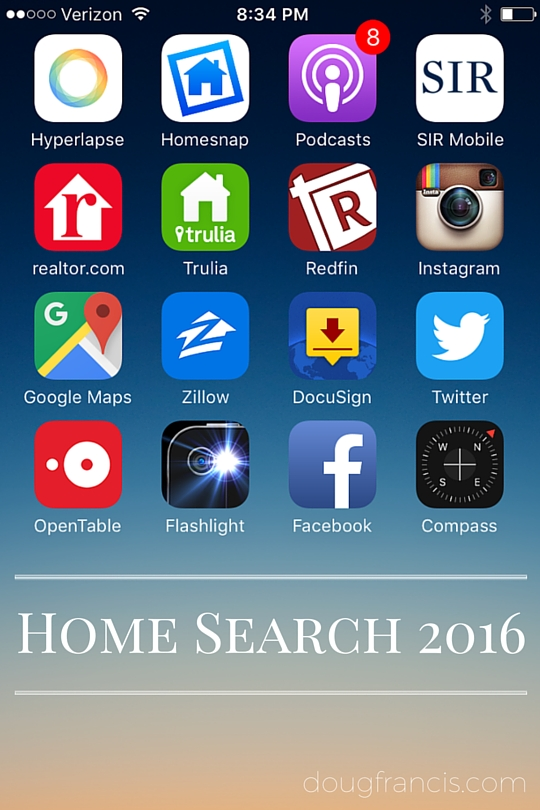 Mobile Real Estate Apps from Zillow, Redfin, Realtor.com on