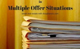 What happens in a multiple offer situation?