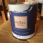 Can of paint Benjamin Moore