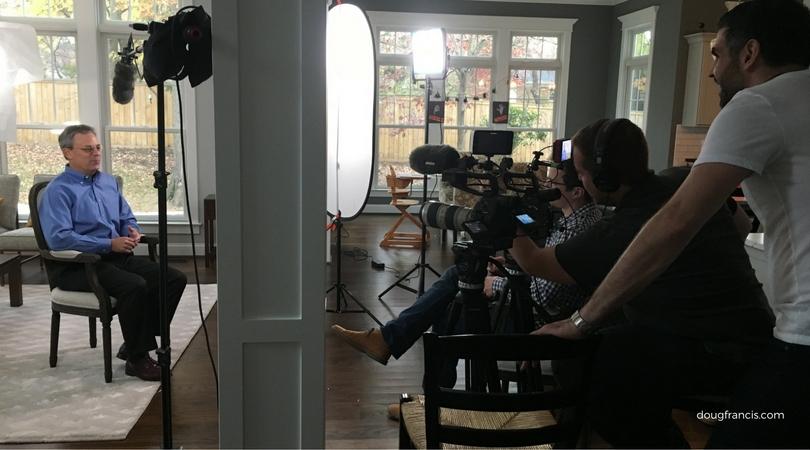 Evoker video film shoot for TTR Sothebys