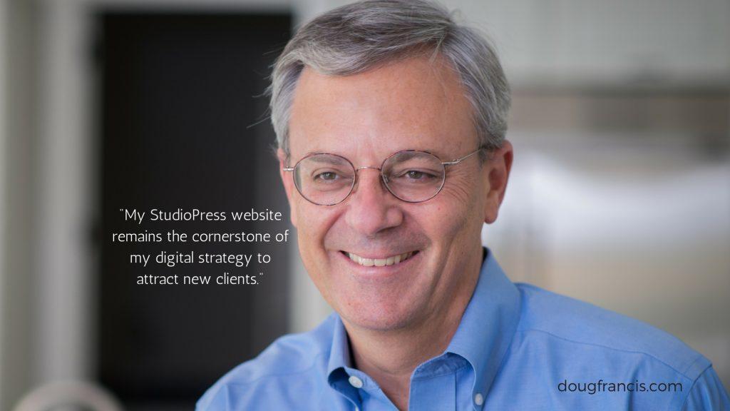 StudioPress website testimonial