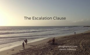 Venice California sunset Escalation Clause