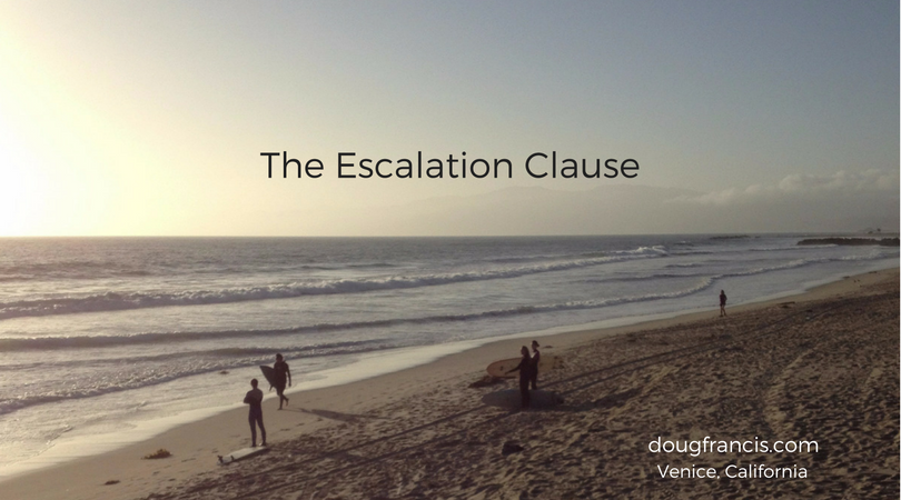 Real estate escalation clause tips