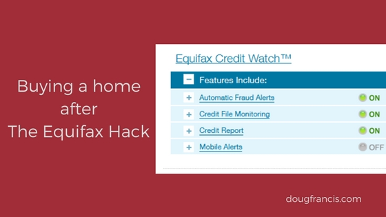 Impact on real estate buyers after Equifax hack