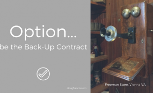 Back Up Real Estate Contract Strategy in low inventory markets