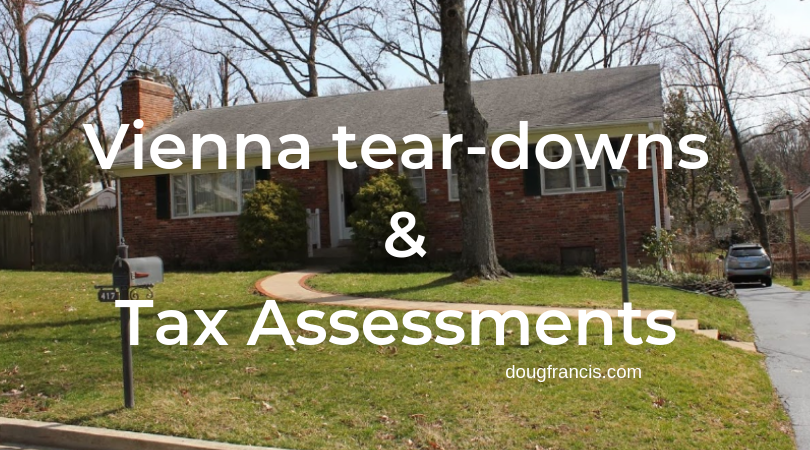 Vienna tear down and tax assessment 2019