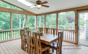 Homeowner ideas screened in porch